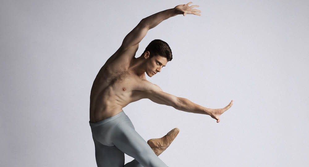 Queensland Ballet Demi-Soloist Vito Bernasconi. Photo by David Kelly.