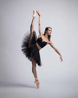 Queensland Ballet Principal Artist Laura Hidalgo. Photo by David Kelly.