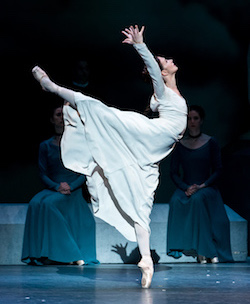 The Royal Ballet's Lauren Cuthbertson in 'The Winter's Tale'. Photo by Darren Thomas.