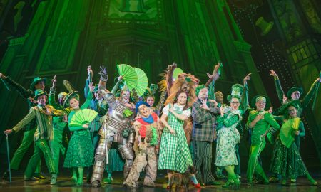 The company of 'The Wizard of Oz' in 'Merry Old Land of Oz'. Photo by Daniel A. Swalec.