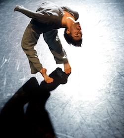 Aakash Odedra Company's 'Rising'. Photo by Chris Nash.