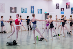International Ballet Workshops. Photo by Chris Dowd..