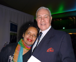 Noel Tovey and Roslyn Watson at the WDA Global Summit 2008. Photo by Julie Dyson