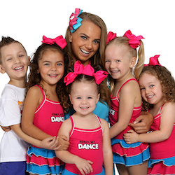 A Ready Set Dance Teacher with Students. Photo courtesy of RSD.