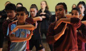Choreographic Workshop 2016 with Shaun Parker. Photo by Heidrun Lohr.