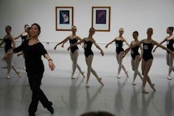 Crystal Wong leads a class. Photo courtesy of Wong.