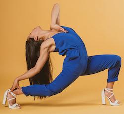 Footnote dancer Anu Khapung. Photo by Caroline Atkinson Photography.