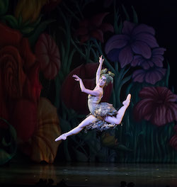 Lucy Green in 'Peter Pan'. Photo by David Kelly.