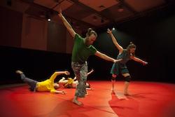 Nat Cursio's 'Loop'. Photo courtesy of Arts Centre Melbourne.