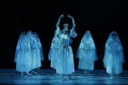 Nicola Curry in The Australian Ballet Regional Tour of 'Giselle'. Photo by Jeff Busby.