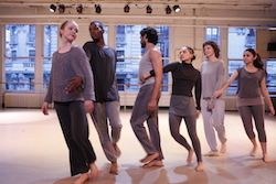 Steps on Broadway International Independent Study Program students in Mindy Upin Jackson's 'Moving Through'. Photo by Paul B. Goode.