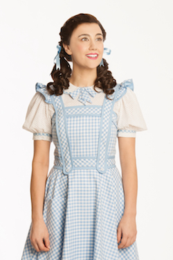 Samantha Leigh Dodemaide as Dorothy. Photo by Jeff Busby.