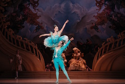 The Australian Ballet's Jade Wood and Marcus Morelli in 'The Sleeping Beauty'. Photo by Daniel Boud.