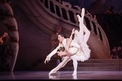 The Australian Ballet's Kevin Jackson and Lana Jones in 'The Sleeping Beauty'. Photo by Daniel Boud.