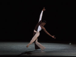 ABT's Calvin Royal III in Alexei Ratmansky's 'Serenade After Plato's Symposium'. Photo by Rosalie O'Connor.