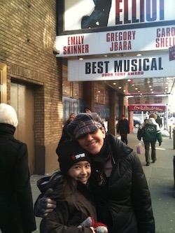 Deborah Mason with a student in NYC. Photo courtesy of Mason.