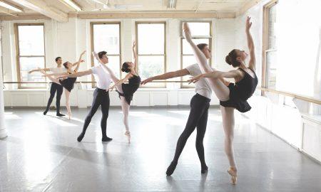 Dancers of Joffrey Ballet School