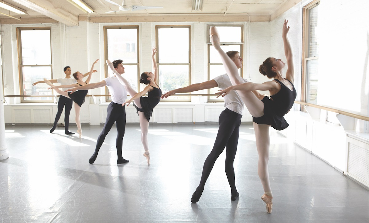 Dancers of Joffrey Ballet School