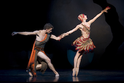 Kevin Jackson and Lana Jones in 'Firebird'. Photo by Alex Makayev.