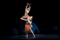 Lana Jones and Kevin Jackson in 'Firebird'. Photo by Alex Makeyev.