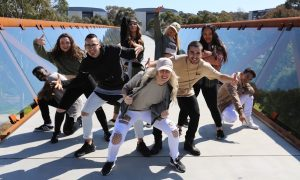 Hip hop crew Superhoodz. Photo courtesy of Superhoodz.