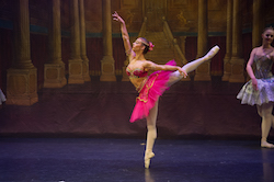 Rebekah Petty as Medora in Victorian State Ballet's 'Le Corsaire'. Photo by Ron Fung.