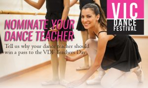 Victorian Dance Festival Teachers Day