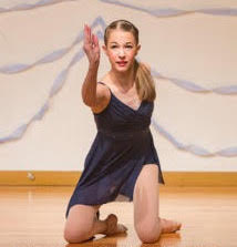 Olivia Withington, BEYOND DANCE's current Dance Ambassador. Photo by Monsta Images Dance & Stage Photography.