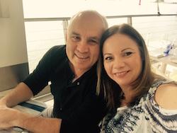 Brett Morgan and Vicki Brown. Photo courtesy of Brown.