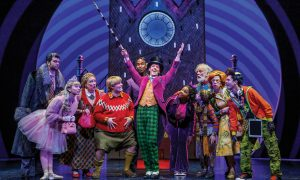 'Charlie and the Chocolate Factory', original Broadway cast. Photo by Joan Marcus.