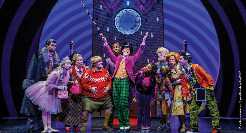 Charlie and the Chocolate Factory', original Broadway cast. Photo by Joan  Marcus. - Dance Informa Magazine