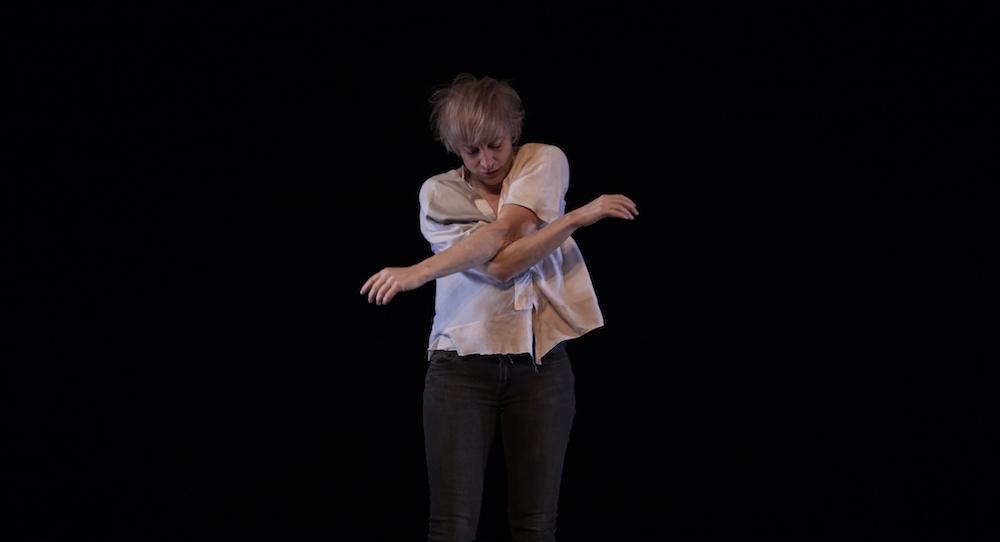 Meg Stuart. Photo by Zan Wimberley.