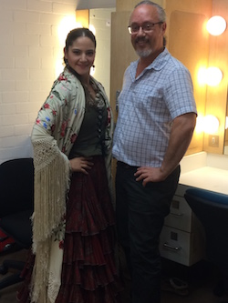 Naima Amar Lopez and Tomás Dietz. Photo by Elizabeth Ashley.
