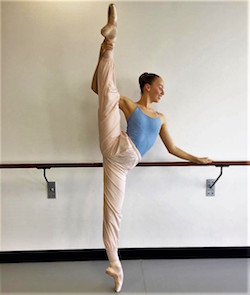 Sydney College of Dance student Bronte Barnett. Photo courtesy of SCD.