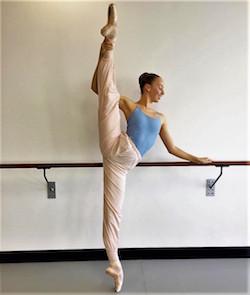 Sydney College of Dance student Bronte Barnett. Photo courtesy of SCD.