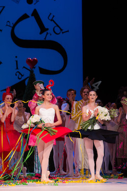 Valerie Tereshchenko (center). Photo courtesy of The Australian Ballet.