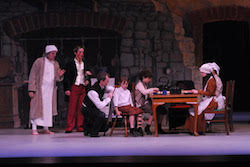 ACYB in 'A Christmas Carol - Scrooge'. Photo by Peter Riley.