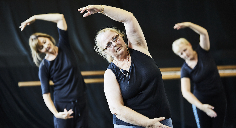 Ballet for Seniors. Photo by Christian Tiger.