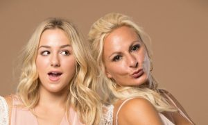 Chloe and Christi Lukasiak. Photo courtesy of 'The Irreplaceables Tour'.