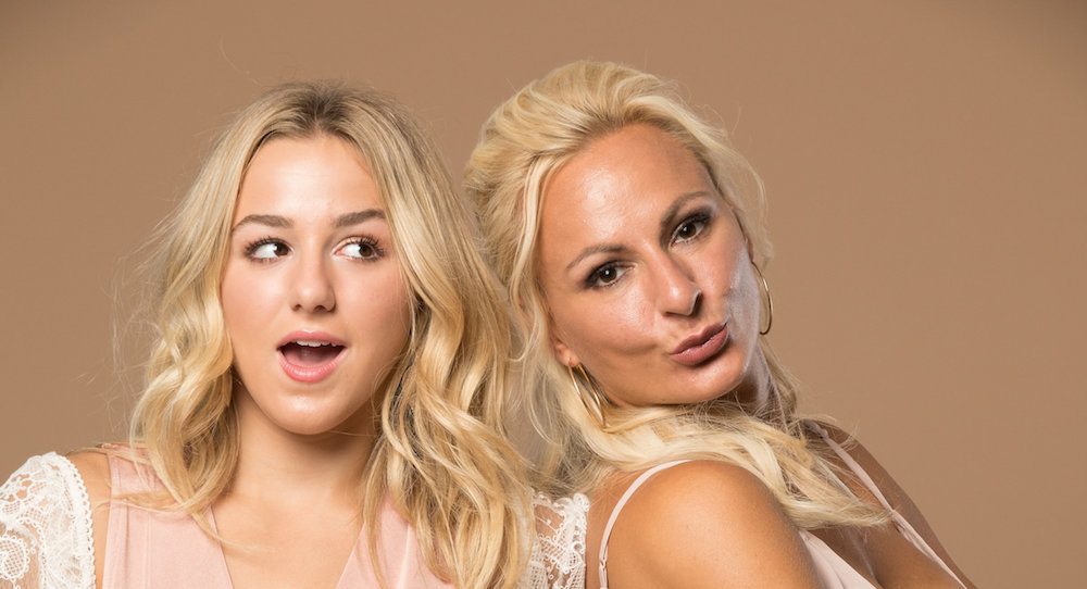 The girls are back in town the irreplaceables tour chloe and christi lukasiak photo courtesy of the irreplaceables tour m4hsunfo