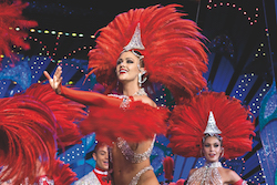 Dancers at Moulin Rouge. Photo courtesy of Janet Pharaoh.
