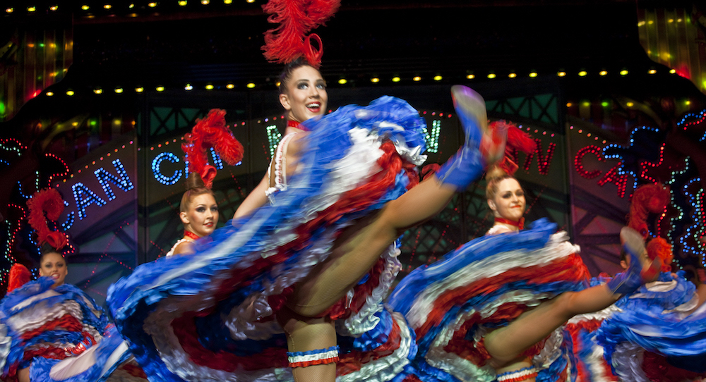 French Cancan. Photo by S. Franzese, courtesy of Moulin Rouge.