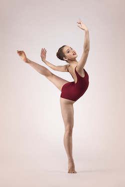 Sydney College of Dance student Luciana Lopez. Photo courtesy of SCD.