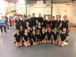 The Australian Classical Youth Ballet at the Adelaide Festival Centre's 2018 Open Day. Photo courtesy of Michael Riggs.