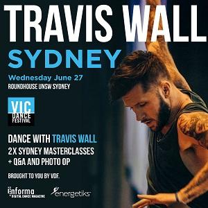 Travis Wall Sydney master classes