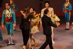 American ballet stars at the performance gala. Photo by Jojo Mamangun.