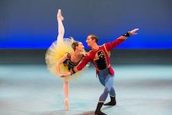 American ballet stars in performance. Photo by Jojo Mamangun.