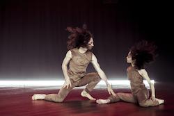 Aymeric Bichon and Christina Chan in Stephanie Lake's 'Replica'. Photo by Pippa Samaya.