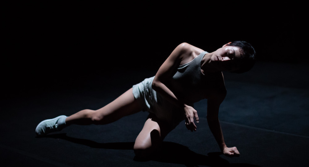 Kristina Chan's 'A Faint Existence' at the Sydney Opera House. Photo by Daniel Boud.