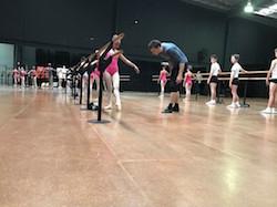 Kevin Jackson and Ballet de Jeune. Photo by Brian Nolan.